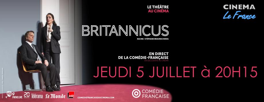 Photo du film Britannicus (Comédie-Française / Pathé Live)