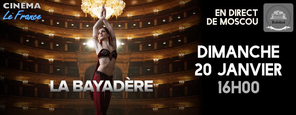 Photo du film La Bayadère ( Bolchoï - Pathé Live)
