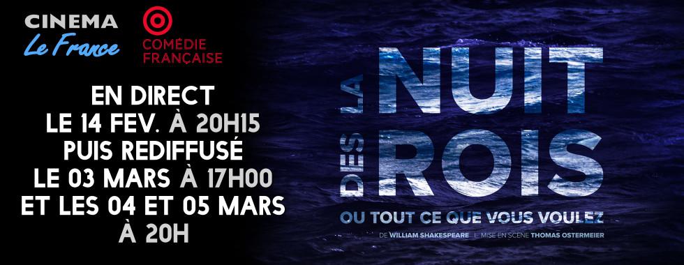 Photo du film La Nuit des rois (Comédie-Française - Pathé live)