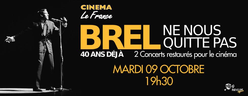 Photo du film Brel Ne nous quitte pas - 40 ans déjà (Pathé Live)
